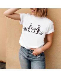 Majica - kod 384 - bijela