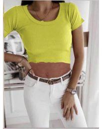 Majica - kod 530 - jarko žuta