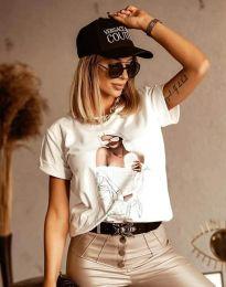 Majica - kod 1533 - bijela