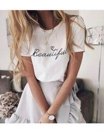Majica - kod 980 - bijela
