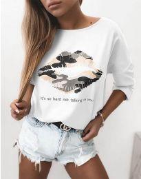 Bluza - kod 5263 - bijela