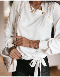 Bluza - kod 6865 - 1 - bijela