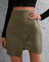 Suknja - kod 1644 - maslinasto zelena