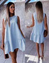 Haljina - kod 3456 - svijetlo plava
