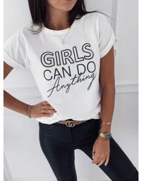 Majica - kod 3581 - bijela