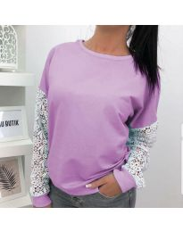 Bluza - kod 4060 - 2 - ljubičasta