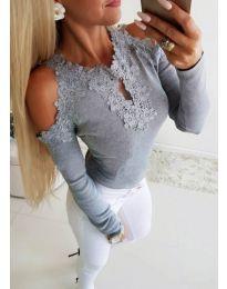Bluza - kod 3538 - siva