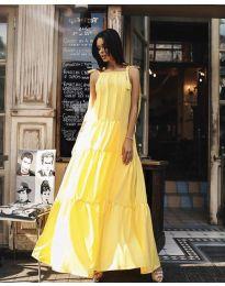 Haljina - kod 1105 - žuta