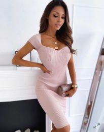 Haljina - kod 0992 - svijetlo ružičasta