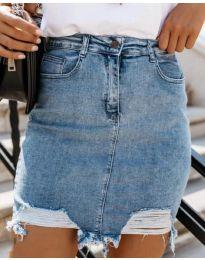 Suknja - kod 3714 - plava