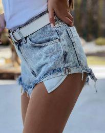 Kratke hlače - kod 4316 - 1 - svijetlo plava
