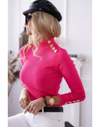 Bluza - kod 6343 - 4 - boja ciklame