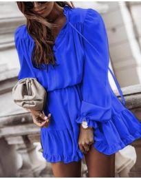 Haljina - kod 3231 - plava