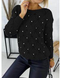 Džemper - kod 392 - crna
