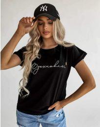 Majica - kod 4803 - crna