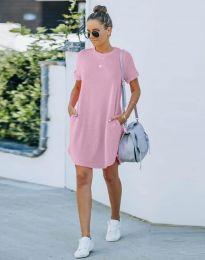 Haljina - kod 384444 - svijetlo ružičasta