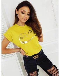 Majica - kod 3659 - žuta