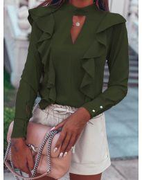 Bluza - kod 7715 - maslinasto zelena