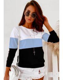 Bluza - kod 9966 - 3 - šarena