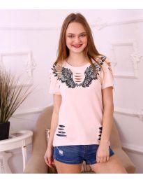 Majica - kod 3568 - roze