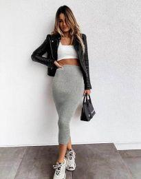 Suknja - kod 2260 - siva