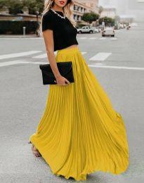 Suknja - kod 3146 - žutа