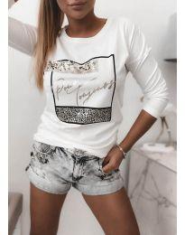 Bluza - kod 4223 - bijela