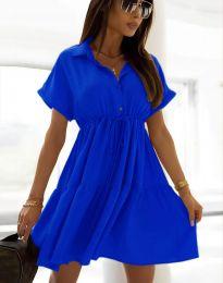 Haljina - kod 6292 - plava