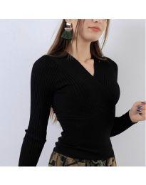 Bluza - kod 6455 - crna