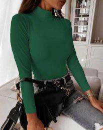 Bluza - kod 6087 - zelena