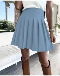 Suknja - kod 8116 - svijetlo plava