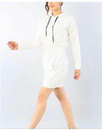 Haljina - kod 7315 - bijela