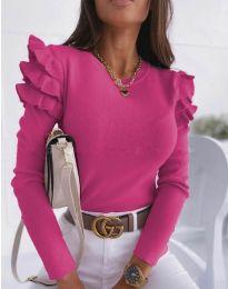 Bluza - kod 1653 - 4 - boja ciklame