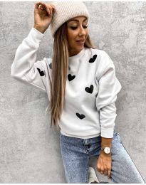 Bluza - kod 3280 - 7 - bijela