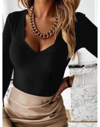 Bluza - kod 4086 - crna