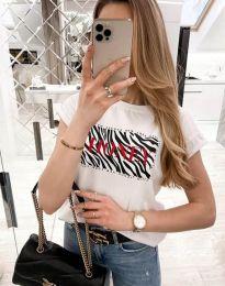 Majica - kod 11708 - bijela