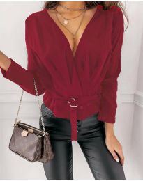 Bluza - kod 5525 - bordo