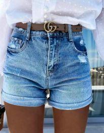 Kratke hlače - kod 4503 - 1 - plava