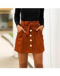 Suknja - kod 5471 - smeđa