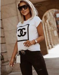 Majica - kod 6698 - bijela