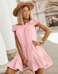 Haljina - kod 6969 - svijetlo ružičasta