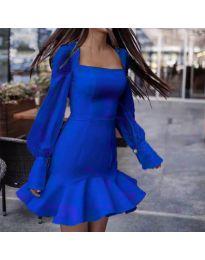 Haljina - kod 3605 - tamno plava