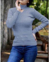 Bluza - kod 5191 - svijetlo plava