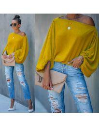 Bluza - kod 5151 - žutа