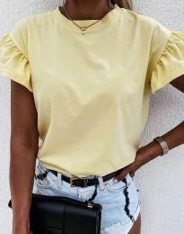 Majica - kod 4352 - svijetlo žuta