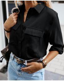 Košulja - kod 6148 - crna