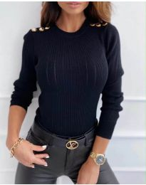 Bluza - kod 8727 - 3 - crna