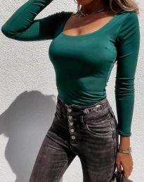 Bluza - kod 4833 - zelena