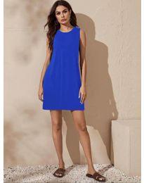 Haljina - kod 3075 - plava