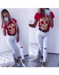Majica - kod 2958 - crvena